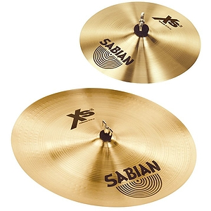 "Sabian Xs20 Effects Cymbal Pack - 10"" Splash/18"" Chinese"