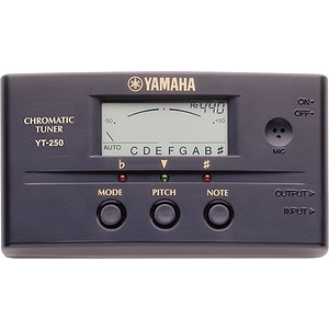 Yamaha YT250 Auto/Manual Chromatic Tuner