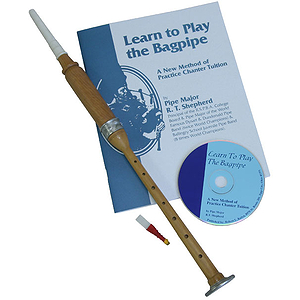 Cocus Practice Chanter, Book & CD