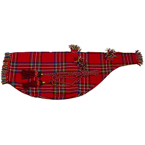 Bagpipe Cover &amp; Cord, Tartan, Fullsize