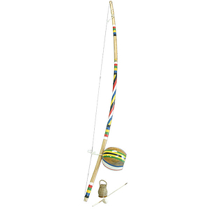 Berimbau, Large, Deluxe (2 Pc Set)