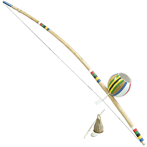 Berimbau, Medium, Deluxe (2 Pc Set)