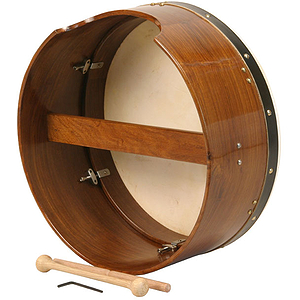"Bodhran, 16""x7"", Tune, Rosewood, Single"