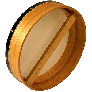 Bodhran, 14&quot;x3.5&quot;, Fix, Mulberry, Single