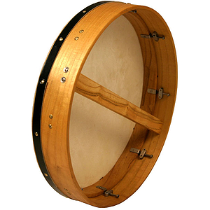 Bodhran, 18&quot;x3.5&quot;, Tune, Mulberry, Sngl