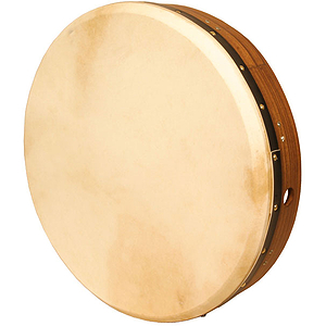 "Bodhran, 18"", Tune, Rswd, Soft, Cross"