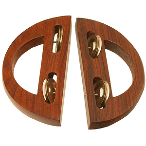 Crescent Clackers, Pair
