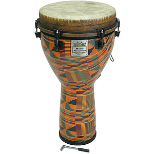 Remo Djembe, Key, 12&quot; X 24, Kinte Kloth