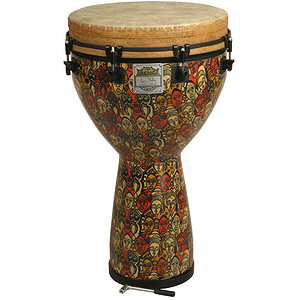 Remo Djembe, Key, 14&quot; X 25&quot;, Multi-Mask