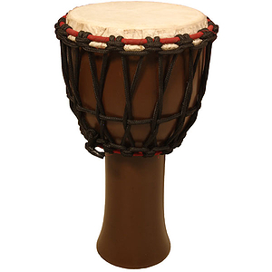 Djembe, Small, 9&quot;, Mango, Dark