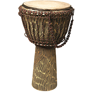 Djembe, 12&quot;x22&quot;, Hand Hewn