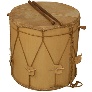 "EMS Medieval Drum, 13x13"", Light"