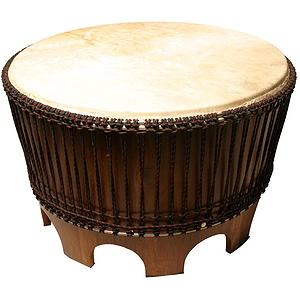 "Drum Accent Table, 28"""