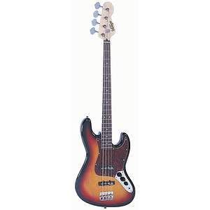 Vintage Guitars EJM96 Bass Guitar - Sunburst