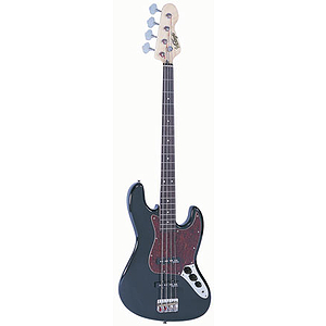 Vintage Guitars EJM96 Bass Guitar - Black