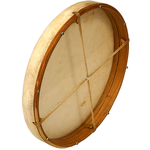 "Frame Drum, 18"", Interior Tuning"