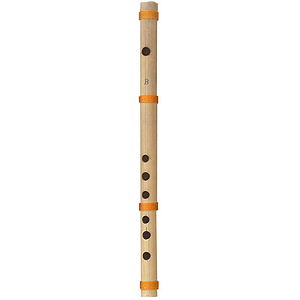Flute, Cane, B4, 14 Inches