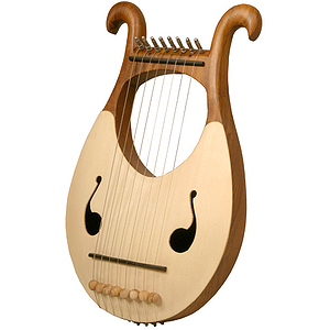 Lyre Harp, 8 String