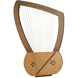 Lyre Harp, 16 String