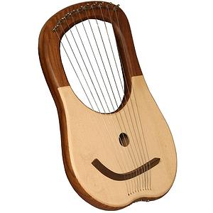 Lyre Harp, 10 String