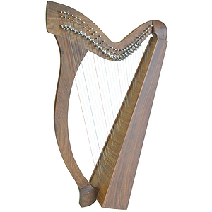 Minstrel Harp TM, 29 Strings, Natural