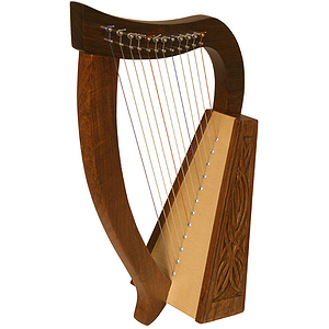 Baby Harp TM, 12 Strings, Knotwork