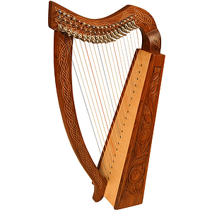 Pixie Harp TM, 19 Strings