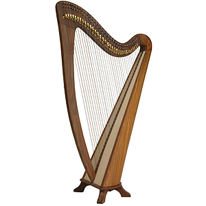 EMS Alyssa Harp TM, 34 Strings