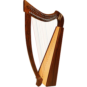 Heather Harp TM, 22 Strings, Natural