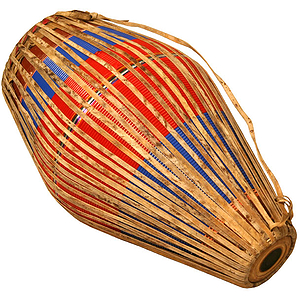 Khol Drum, Fiberglass Body, Colored