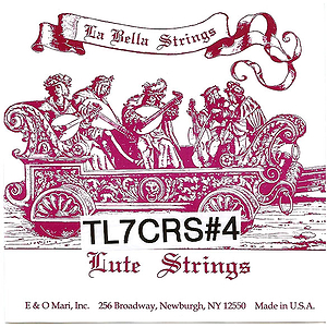 La Bella Lute String Set, 7 Courses