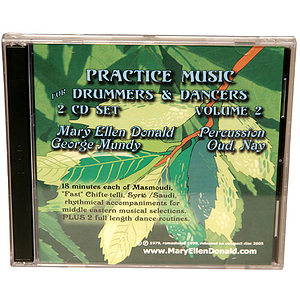 Practice Music, Drum &amp; Dance CD Vol 2