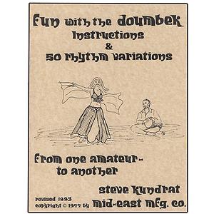 Doumbek Tutor Book. Steve Kundrat