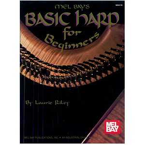 Mel Bay&#039;s Basic Harp for Beginners