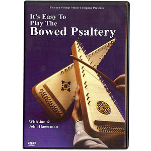 Mel Bay&#039;s Play the Bowed Psaltry, DVD/BK