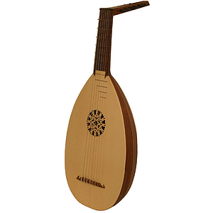 7-Course Lute, Rosewood, Taylor