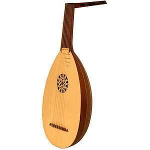 8-Course Lute, Rosewood, Taylor