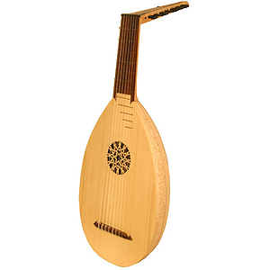 8-Course Lute, Lacewood, Taylor