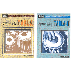 Learn to Play on Tabla, 2 Book Set