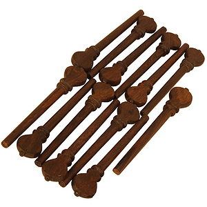Descant Lute Rosewood Peg Set