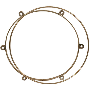 "Metal Doumbek Tuning Rings, For 10"" Drum"