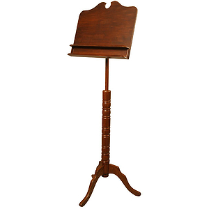 Music Stand, Boston, Double Shelf