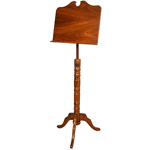 Music Stand, Boston, Single Tray, Tall
