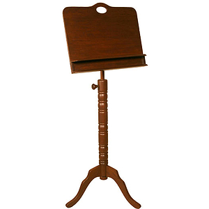 Music Stand, Colonial, Double Tray