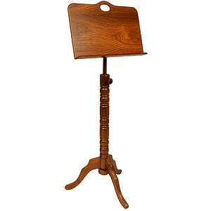 Music Stand, Colonial, Single Tray