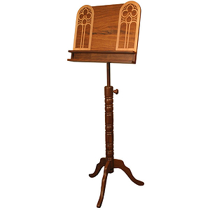 Music Stand, Halifax, Double Shelf