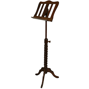 Music Stand, Spiral, Single