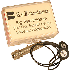 Big Twin Pick Up by K & K Sound Internal
