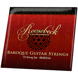 Roosebeck 5-Course Baroque Guitar String