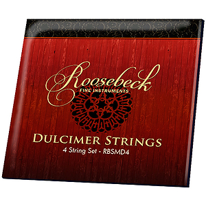 Roosebeck Mountain Dulcimer 4-String Set